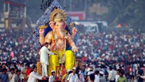 INDIA WITH CELEBRATION OF GANESH CHATURTHI.