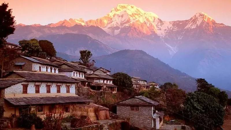 Scenic Beauty of Hills.