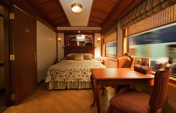Maharajas' Express updated Train.
